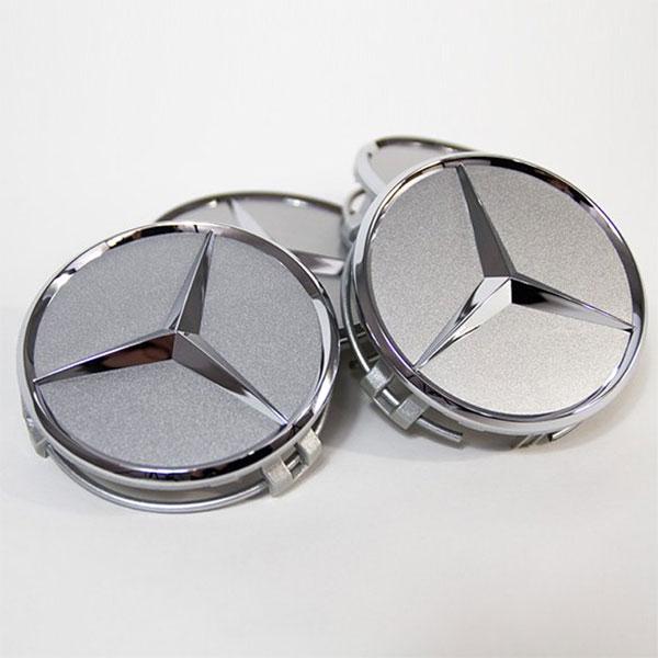 Mercedes-Benz-Naafdoppen-titanium-zilver