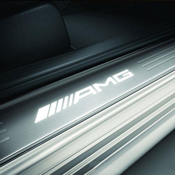 AMG-Instaplijsten-met-verlichting-Mercedes-GL-klasse-X166-ML-klasse-W166