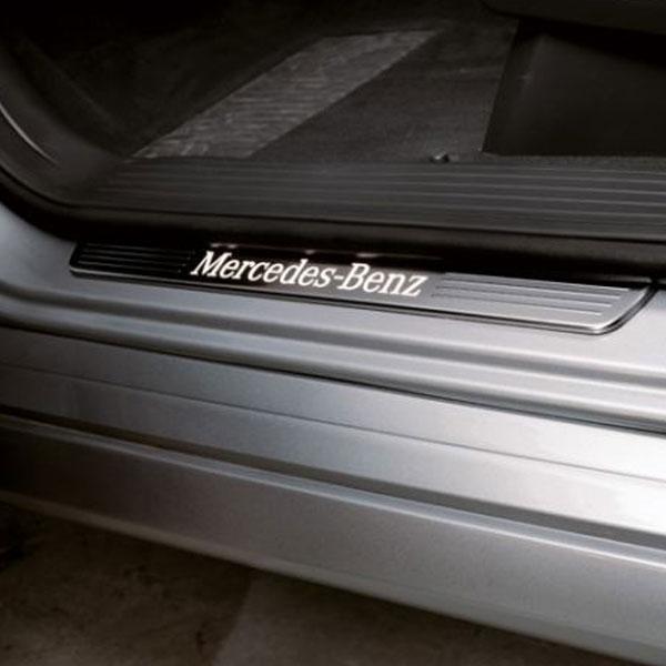 Instaplijsten-met-verlichting-Mercedes-Benz-ML-klasse-W166
