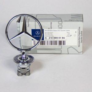 Origineel Mercedes Ster Chroom A2108800186
